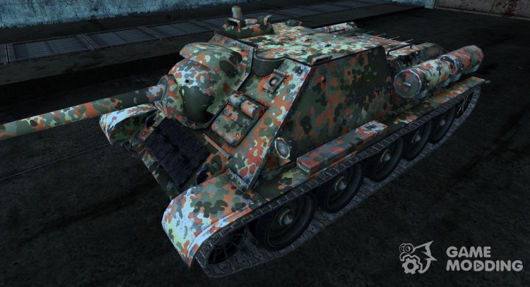 Skin for Su-85 for World Of Tanks