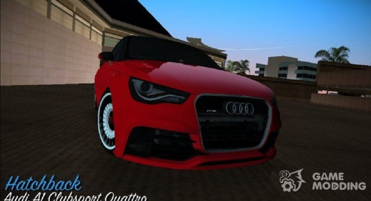 Audi A1 Clubsport Quattro 2011 For Gta Vice City
