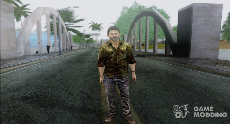 Joel from The Last Of Us for GTA San Andreas