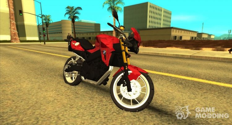 BMW F800R 2013 for GTA San Andreas