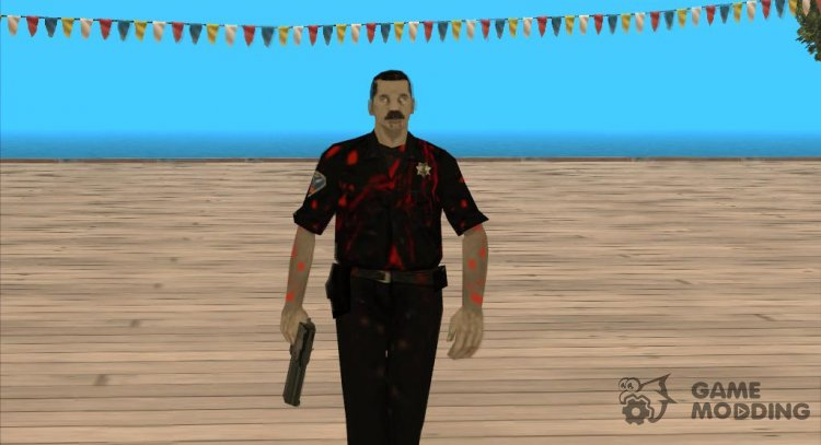 Zombie lapd1 for GTA San Andreas