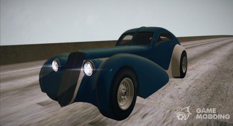 GTA V Truffade Z-Type for GTA San Andreas