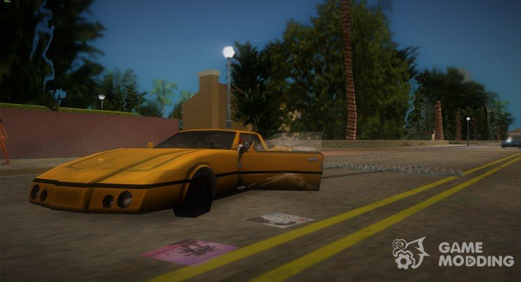 HP-Stinger 2.0 for GTA Vice City