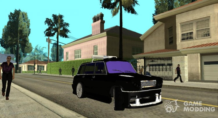 VAZ 2104 Police Racing (Retexture) for GTA San Andreas