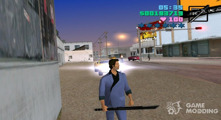 Меч Дедпула для GTA Vice City