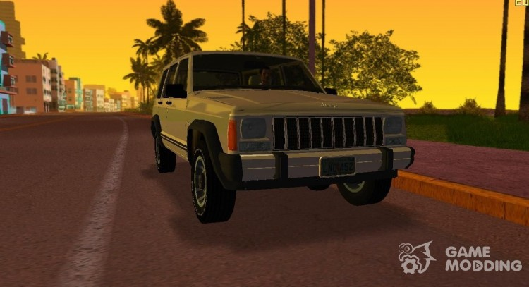 Jeep Cherokee XJ 1984-1991 for GTA Vice City