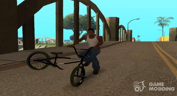 Tricks on a bike from Hedgy for GTA San Andreas