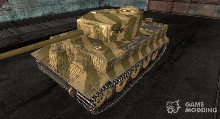 Шкурка для Tiger Польша, лето 1944 для World Of Tanks