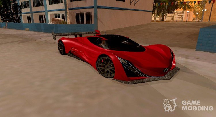Mazda Furai 2008 for GTA San Andreas