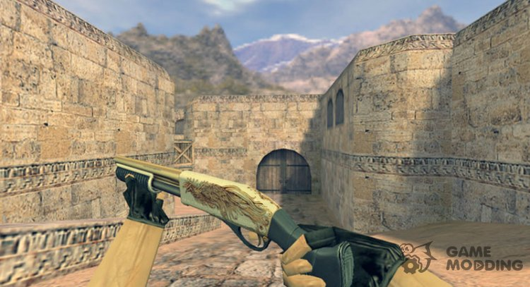 Sawed-off Grey Phoenix for Counter Strike 1.6