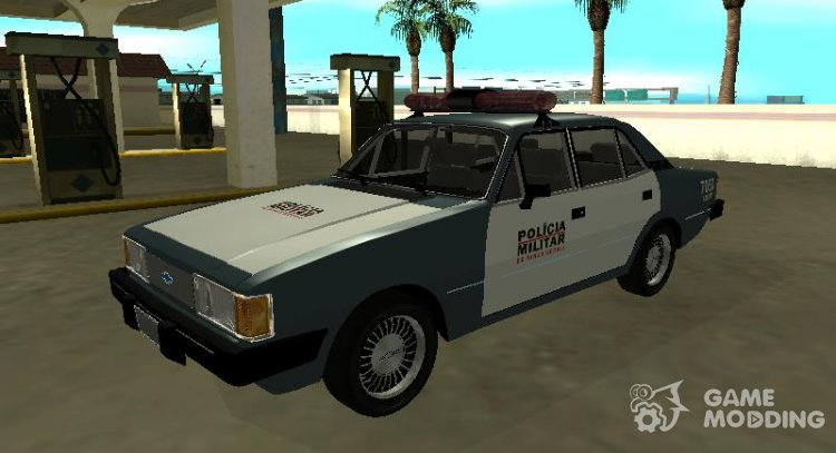 Chevrolet Opal of the Military Police of the state of Minas Gerais for GTA San Andreas