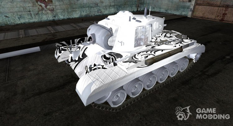 The M26 Pershing of Azazello for World Of Tanks