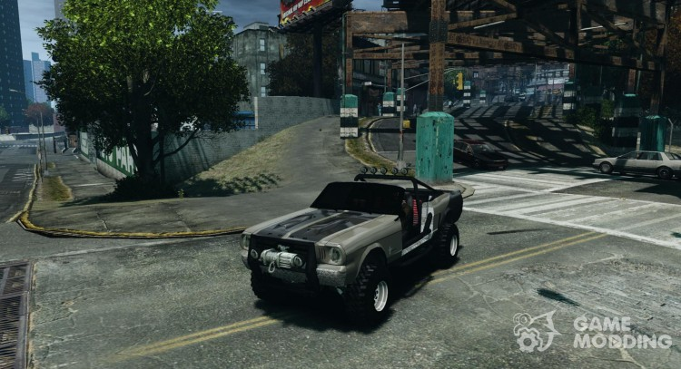 Ford Mustang Sandroadster 1.0 для GTA 4