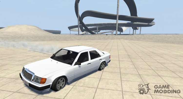 Mercedes-Benz W124 beta for BeamNG.Drive