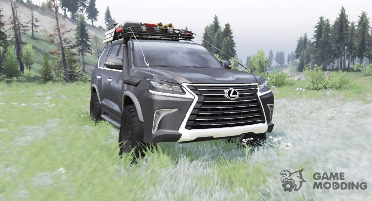 Lexus LX 570 for Spintires 2014