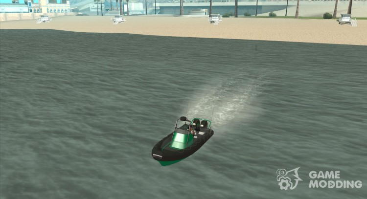 GTAIV Dinghy for GTA San Andreas