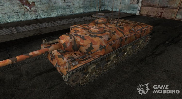 Skin for T28 No. 8 for World Of Tanks