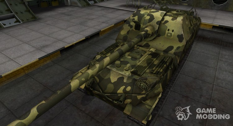 Skin for A 261 camouflaged for World Of Tanks