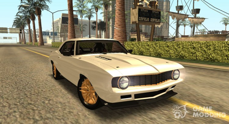 Chevrolet Dutch Boys Camaro SS 1969 for GTA San Andreas