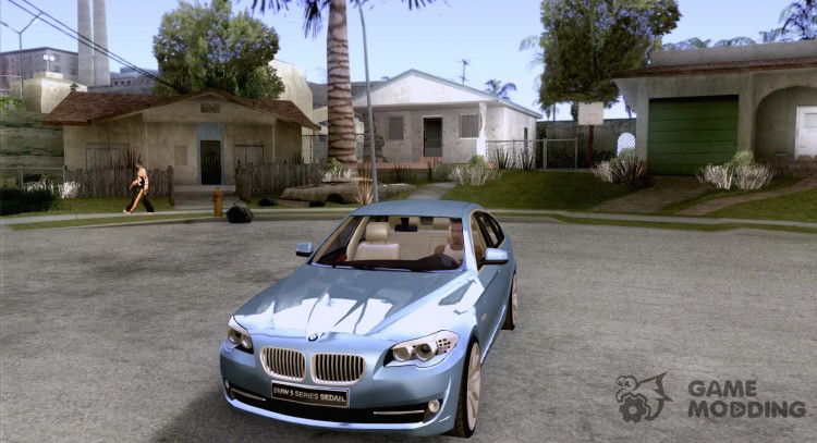 BMW 550i F10 for GTA San Andreas