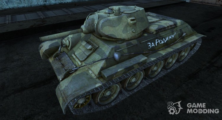 T-34 19 for World Of Tanks