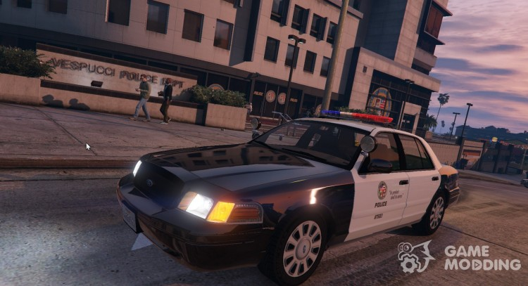 1999 Ford Crown Victoria LAPD for GTA 5