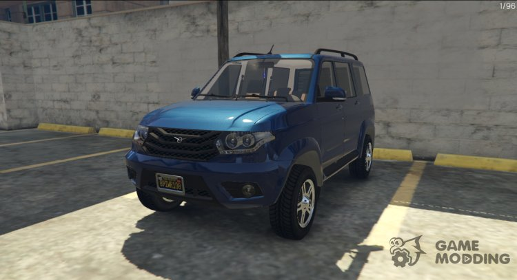 UAZ Patriot for GTA 5