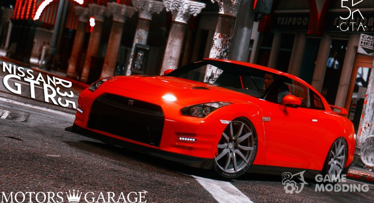 Nissan GTR R35 for GTA 5