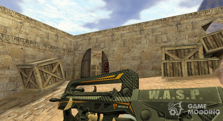Famas WASP for Counter Strike 1.6
