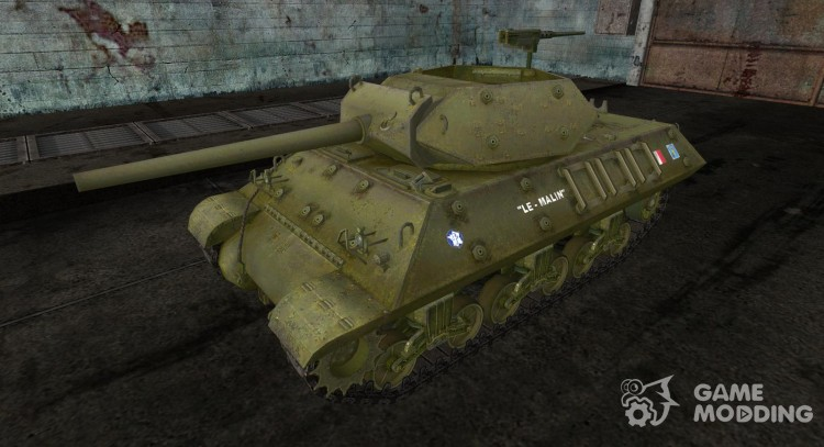Skin for M10 Wolverine French for World Of Tanks