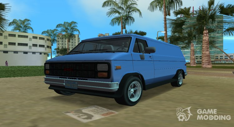 GMC Vandura G-15 1983 v1.1 for GTA Vice City