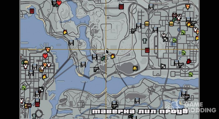 where is san andreas in gta 5 map