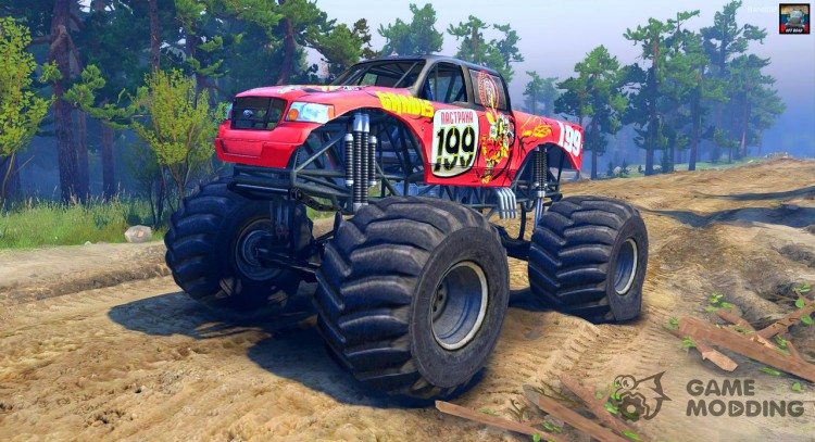 Pastrana Monster Truck for Spintires 2014