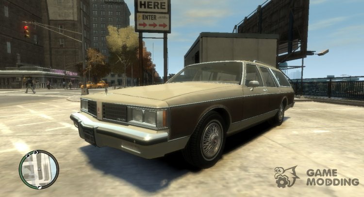 1985 Oldsmobile Custom Cruiser for GTA 4