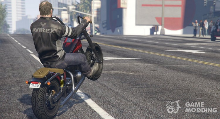 Avirex Jacket for Trevor for GTA 5