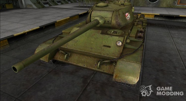 Remodeling for the t-44 for World Of Tanks