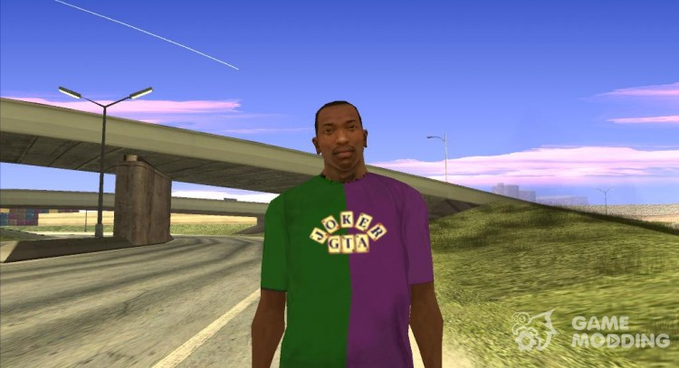 Joker T-shirt GTA for GTA San Andreas