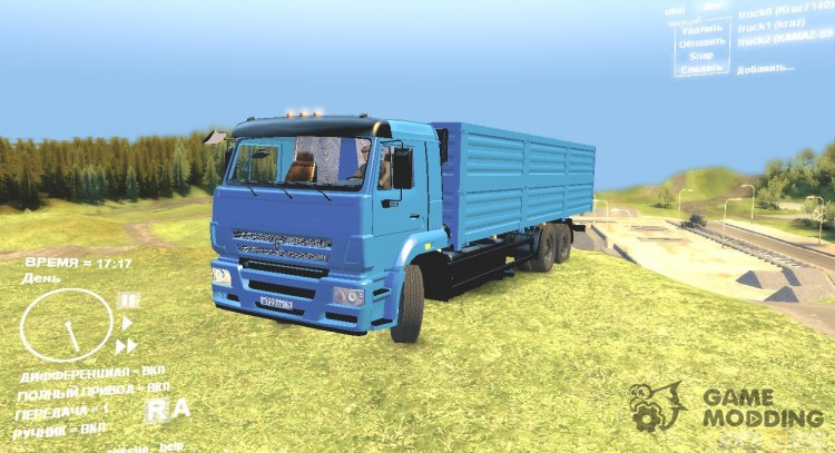KAMAZ 65116 for Spintires DEMO 2013