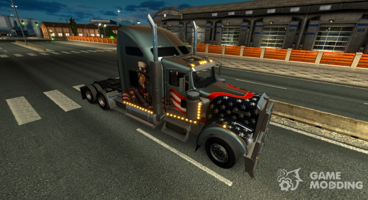 Kenworth W900 for Euro Truck Simulator 2