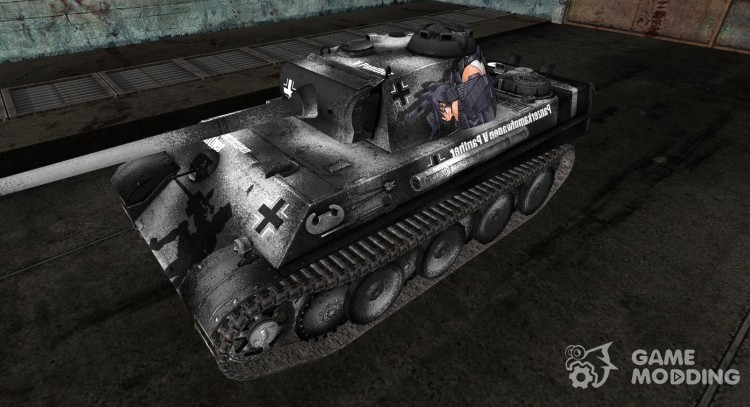 Аниме шкурка для Pz V Panther для World Of Tanks