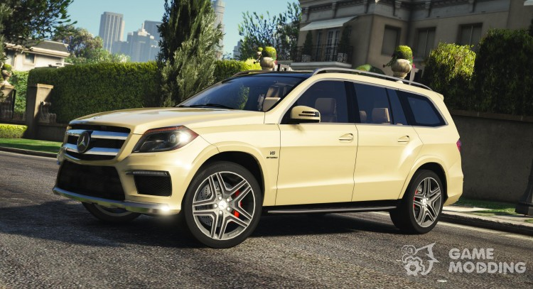Mercedes-Benz GL63 AMG v1.2 for GTA 5