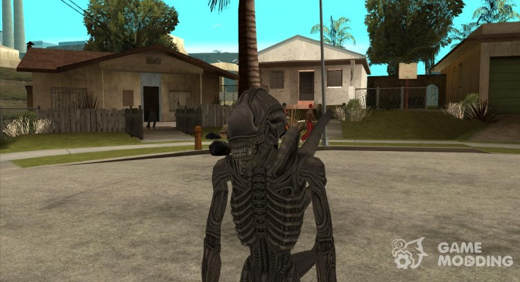 Alien Xenomorph for GTA San Andreas