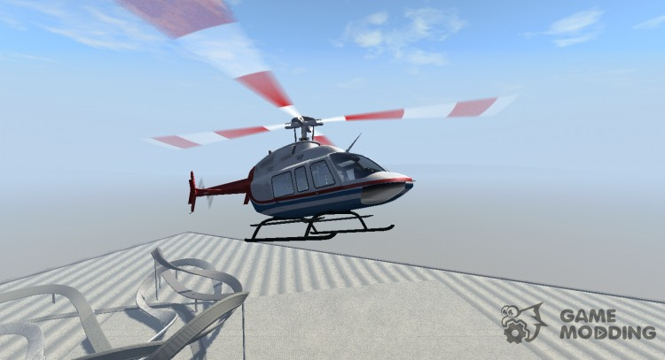 Bell 407 for BeamNG.Drive