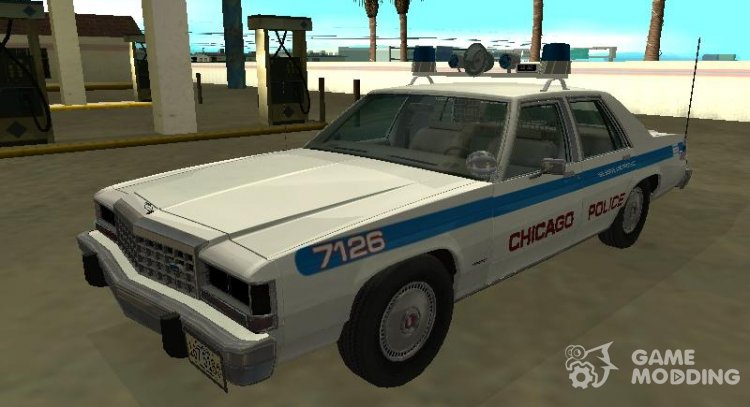 Ford LTD Crown Victoria 1987 Chicago Police Department for GTA San Andreas