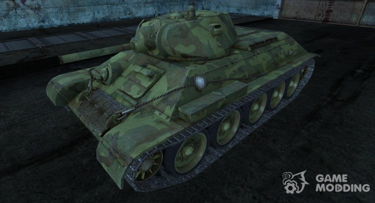 T-34 14 for World Of Tanks