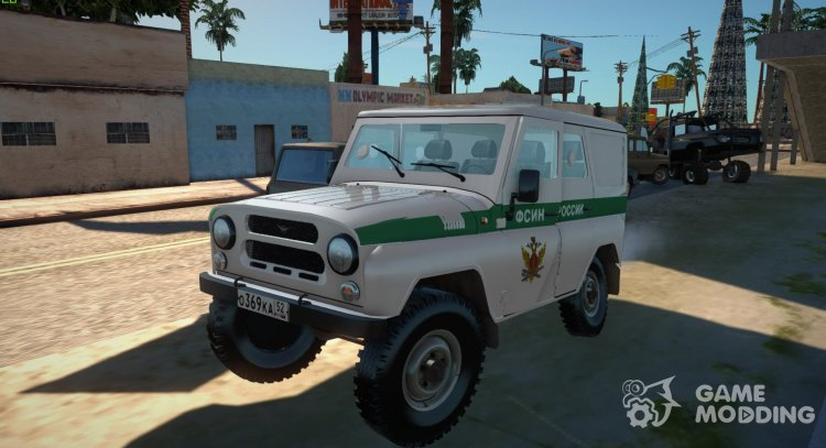 UAZ-3151 Federal penitentiary service of Russia for GTA San Andreas