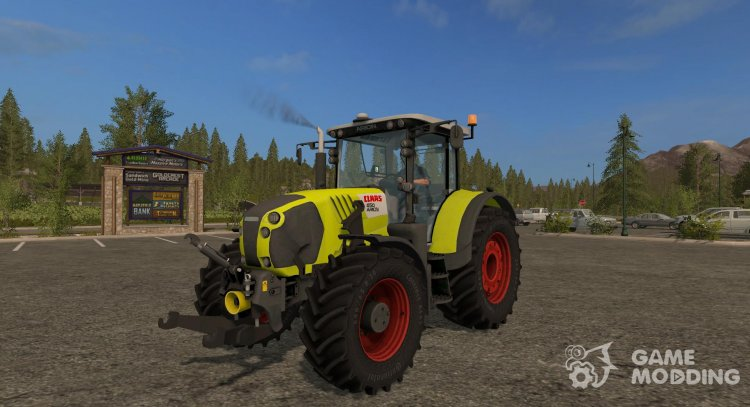 Claas Arion 650 version 1.0.0.0 for Farming Simulator 2017