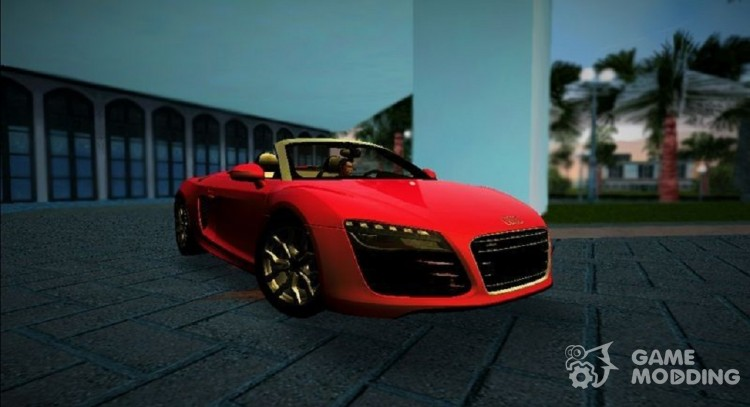 2014 Audi R8 V10 Spyder for GTA Vice City