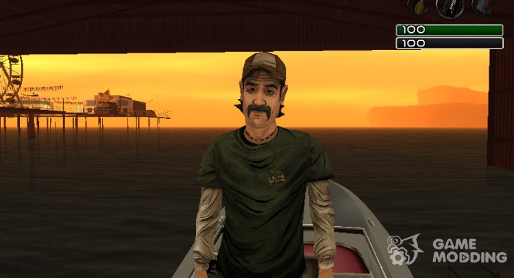 Kenny of The Walking Dead for GTA San Andreas