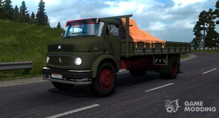 Mercedes-Benz L 1111 for Euro Truck Simulator 2